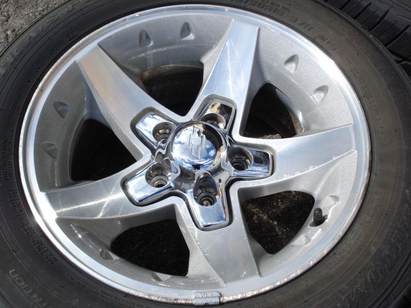 Sell 16x8 Zq8 Rim Wheel Tire Set Chevy S10 Xtreme Truck