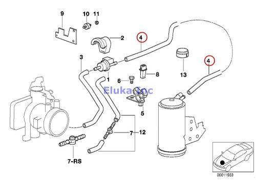 Purchase BMW Genuine FUEL TANK BREATH.VALVE/DISTURB.AIR
