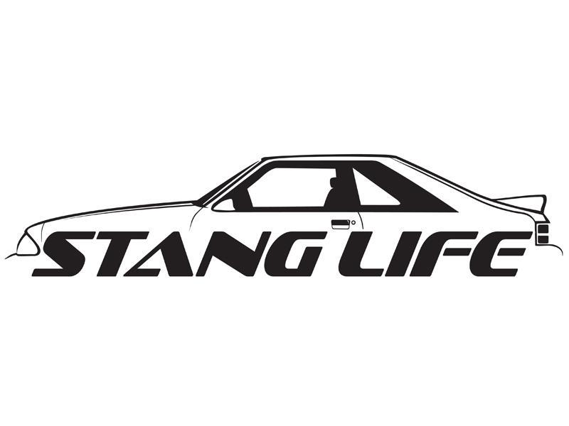 Purchase stang life vinyl sticker window decal sticker