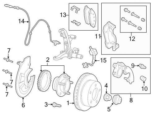 Buy Ford OEM ABS Wheel Speed Sensor Wiring Harness