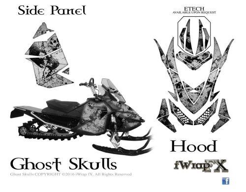 Find Ski-Doo sled Wrap Rev XP MXZ 2008-2013 sled decal kit