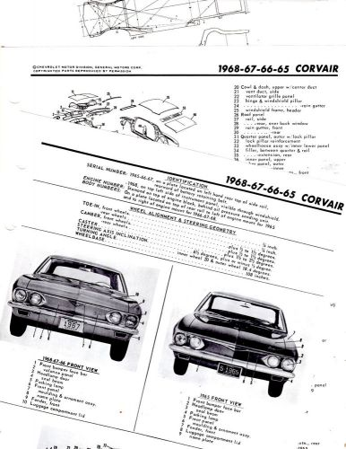 Wiring Diagram For 1966 Chevrolet Corvair