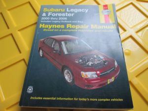 Sell Haynes Manual for Subaru Legacy and Forester