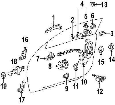 Vw Door Lock Mechanism 66 Mustang Door Lock Wiring Diagram