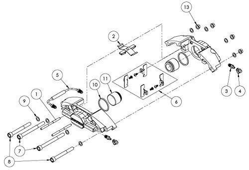Buy StopTech 41.538.0003 Brake Caliper Replacement Piston