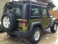 Roof Top: Jeep Soft Top Roof Rack