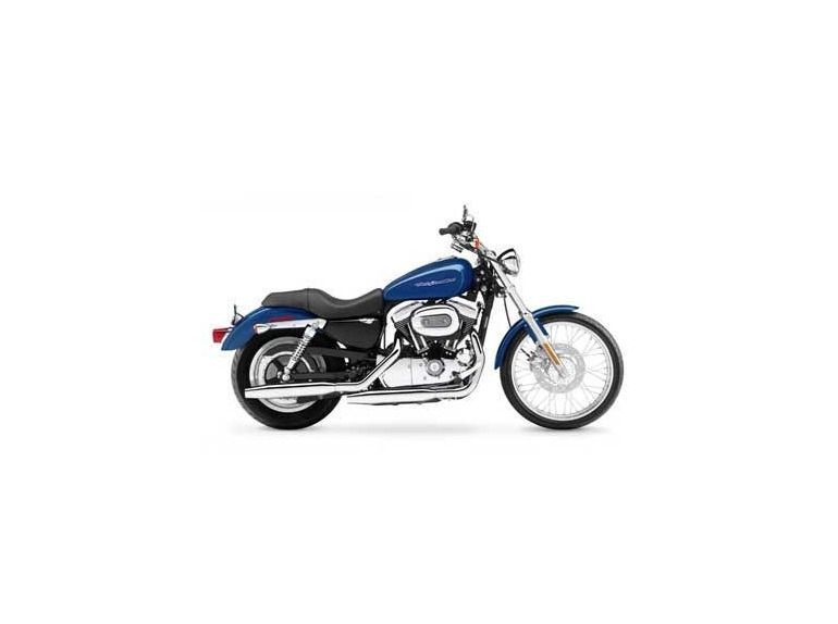 Rich Sunglo Blue Harley-Davidson Sportster for Sale / Find