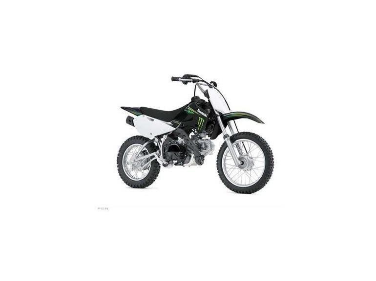 Buy 2009 Kawasaki KLX110 Monster Energy Dirt Bike on 2040