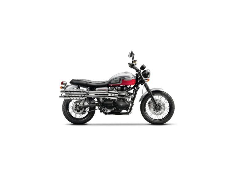 2014 Triumph Scrambler Two-Tone for sale on 2040-motos