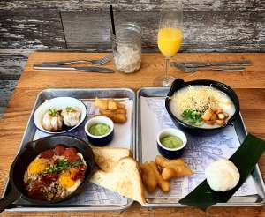Tired of the same old brunch scene? This spring in Portland, it's all about Chee Vit Dee and their Thai breakfast sets