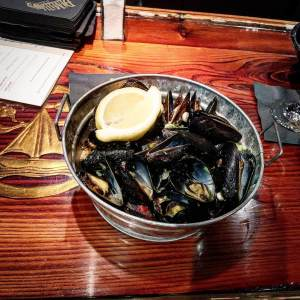 mussels at DiMillo's