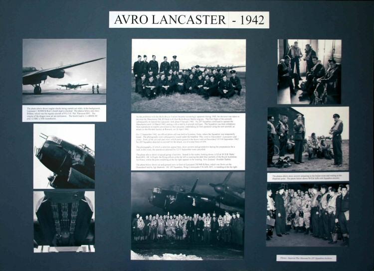 207 Squadron RAF History  207 Squadron History Display Boards by Alan Mawby