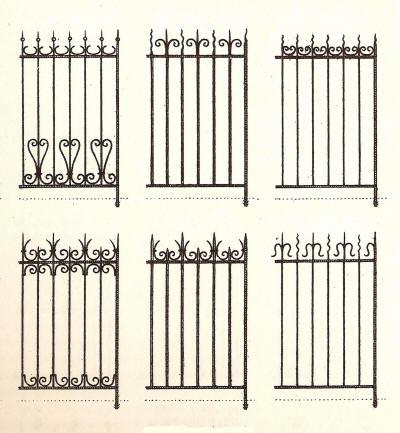 barrires de jardin dpoque