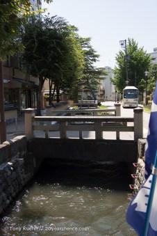 Kanazawa's river