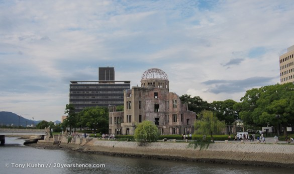 Another view of the A-Bomb Dome