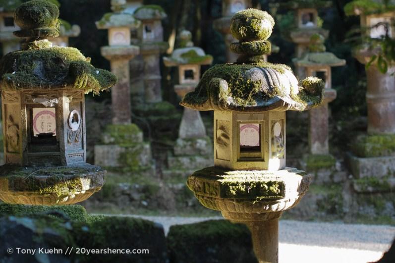 Detail shot of some lanterns