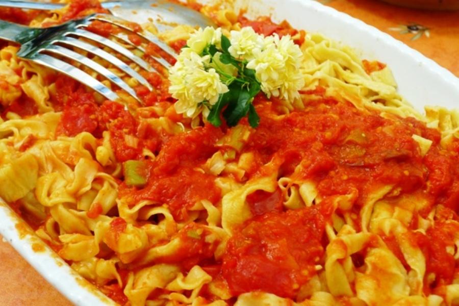 Homemade Pasta in Tuscany... No wonder I gained weight!