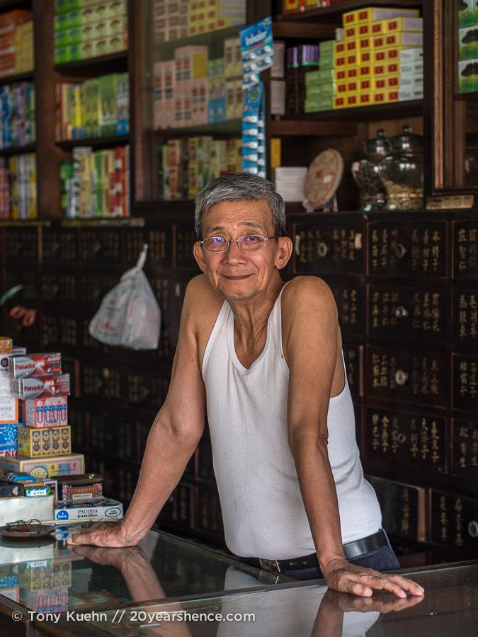 People in Kuching, Malaysia