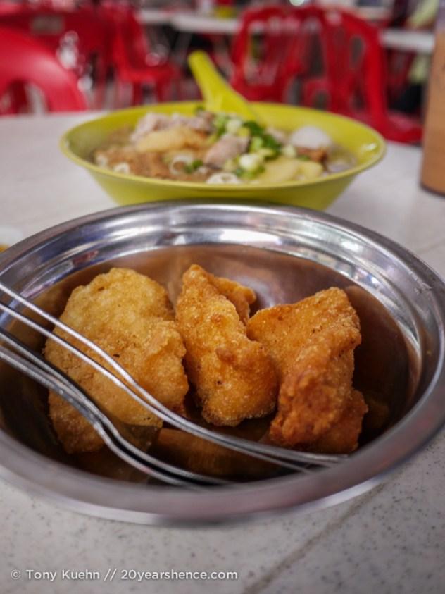 Fried fish in Penang