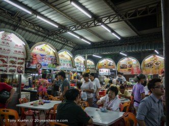 Hawker center in Penang