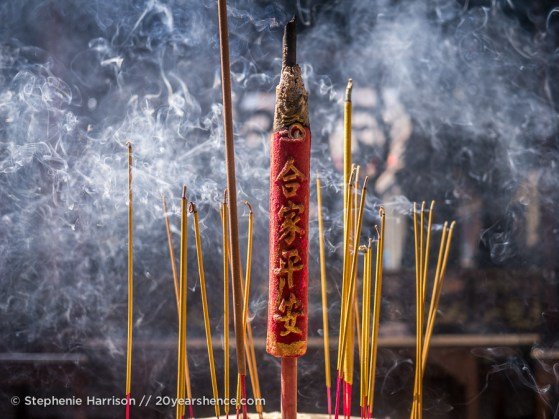 Incense, Ho Chi MInh City