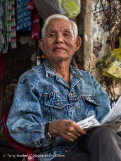 Friendly man, Ho Chi Minh City