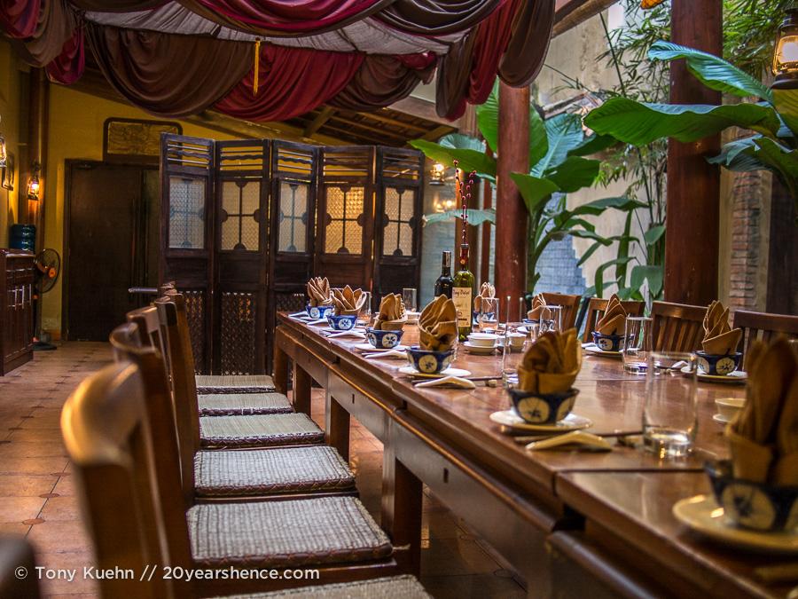 Lang Viet Dining Room, Ho Chi Minh City