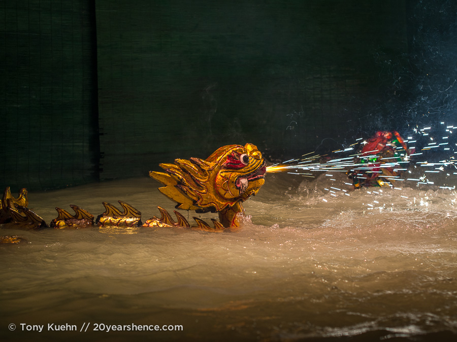 Water puppet show, Ho Chi Minh City