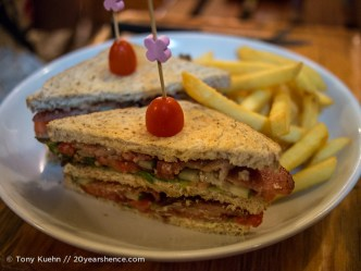 Bacon Club Sandwich