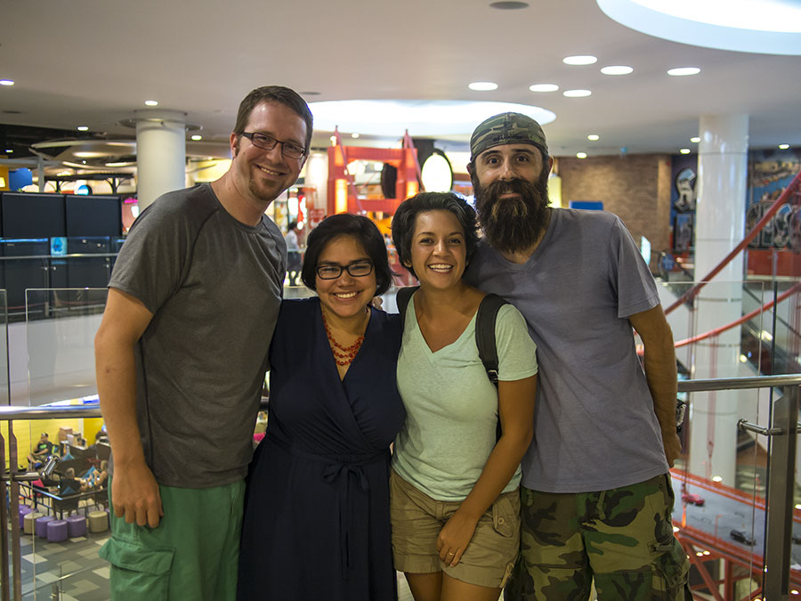 Just under the wire: Lynn & Noah of Because We Camp in Thailand... TONIGHT!