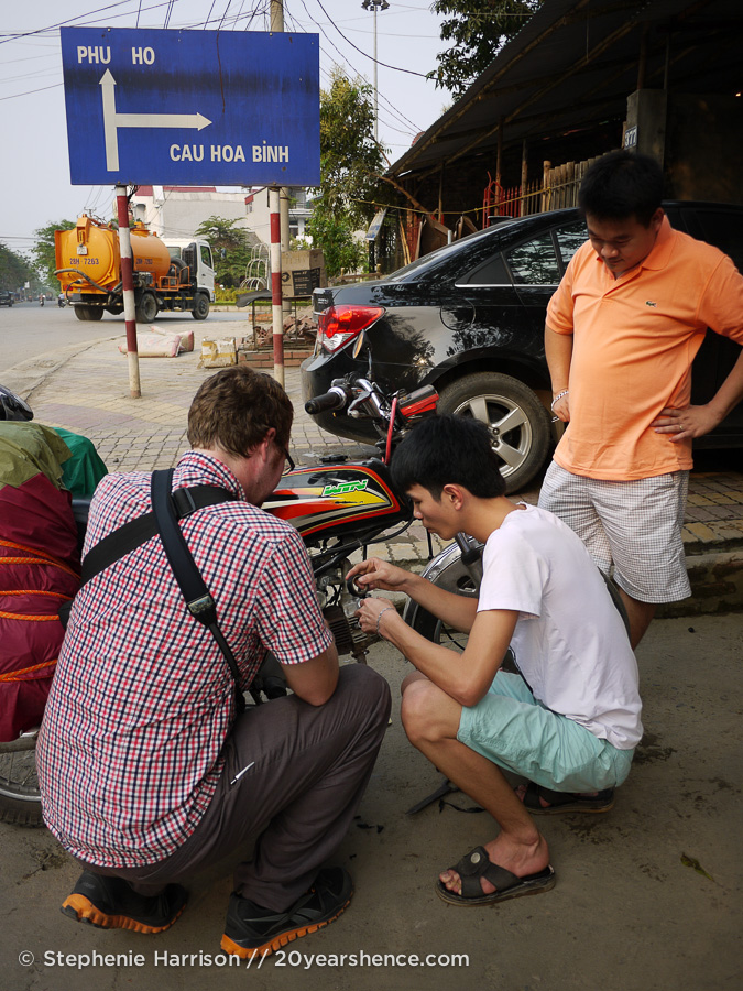 The first of many fixes for our Vietnamese motorcycle