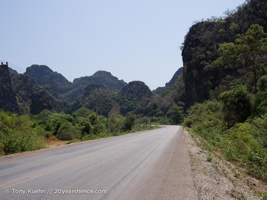 Thakhek Loop scenery