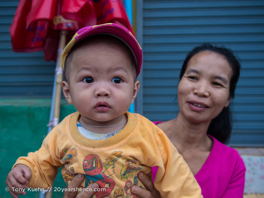 Morning market, Vang Vieng, Laos