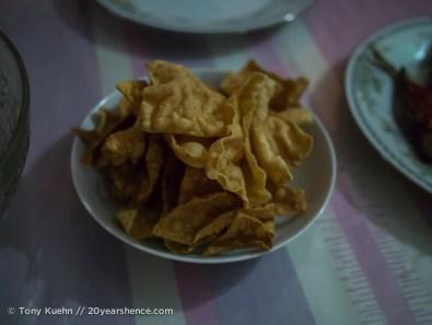 Dinner in Ambalangoda