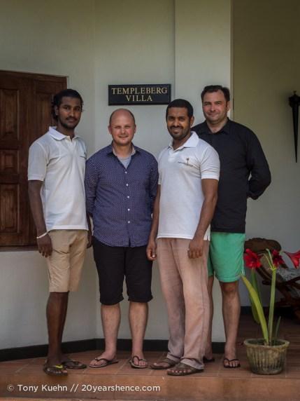 Templeberg Villa Staff