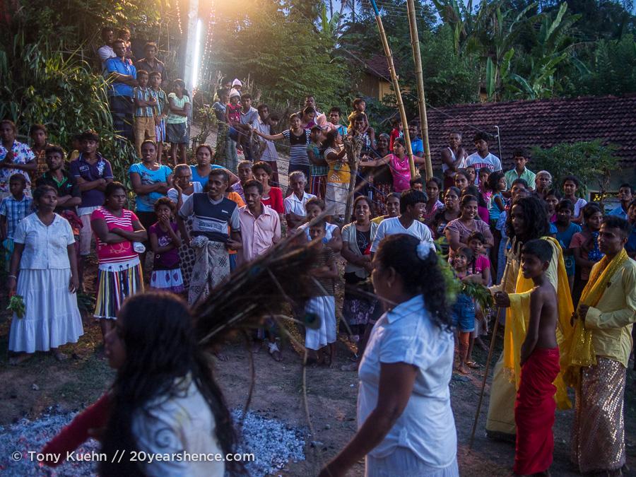 At a Sir Lankan Devil Dance