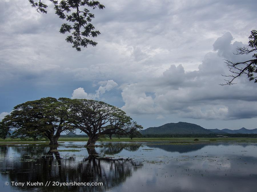 Scenery in Tissa, Sri Lanka