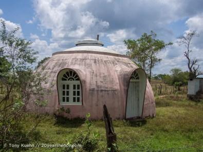 Tea-pot houses near Arugam Bay, Sri Lanka