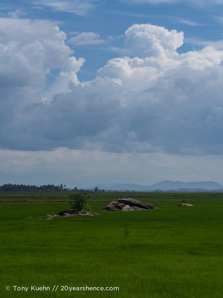 Coutryside near Baticaloa, Sri Lanka
