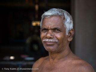 A local, near Baticaloa, Sri Lanka