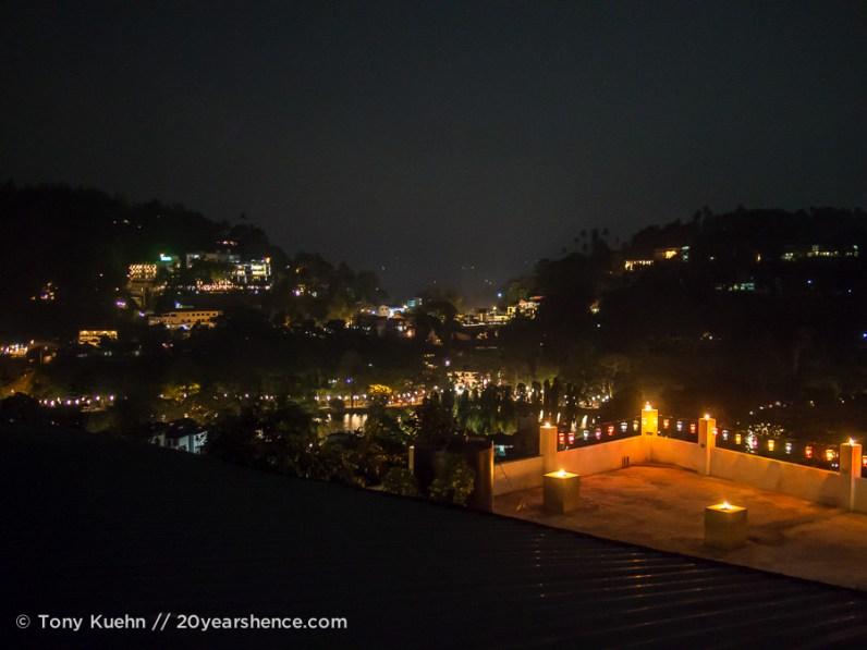 Vesak lanterns, Kandy, Sri Lanka
