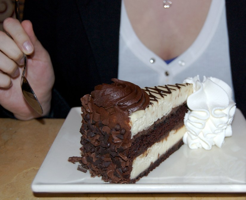 Cheesecake from the Cheesecake Factory