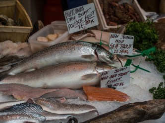 Fish, Borough Market, London