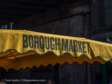 Awning, Borough Market, London