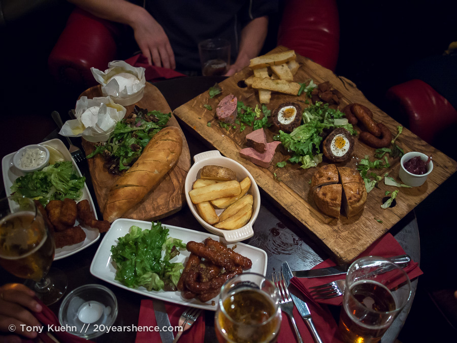 All the pub grub you could ever want