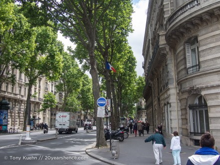 A street in Paris, France