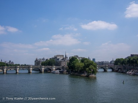 The Seine River, Paris