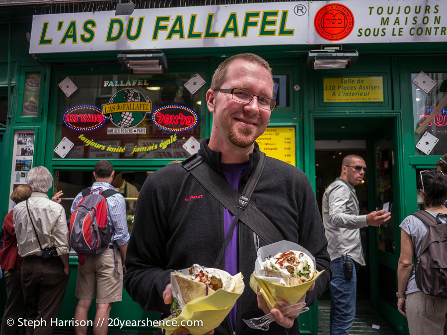 Tony @ L'As du Fallafel