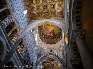 The interior of Pisa's Duomo