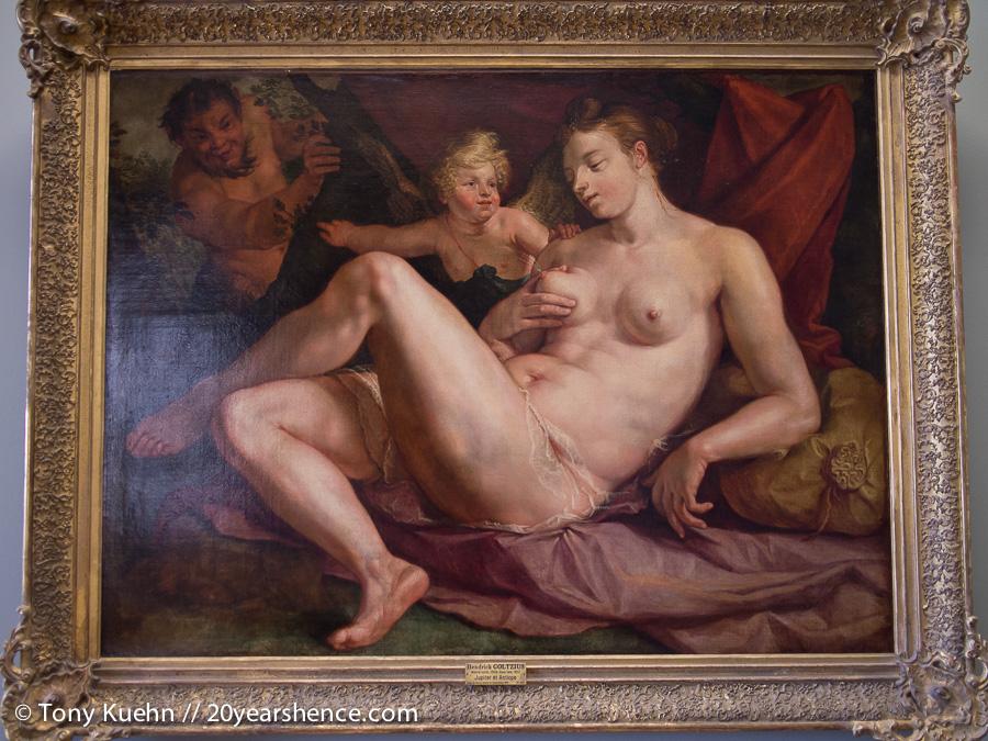 Lactating painting